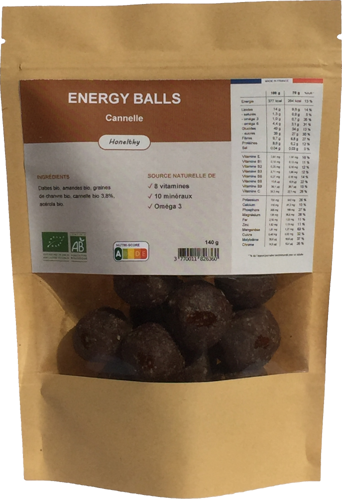 Energy Balls Cannelle